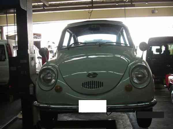 てんとう虫よ さらば!@スバル 360【車検と車の修理@東大阪!】