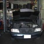 水漏れ修理(ラジエター交換)@メルセデス ベンツ C200(W202)【車検と車の修理@東大阪!】