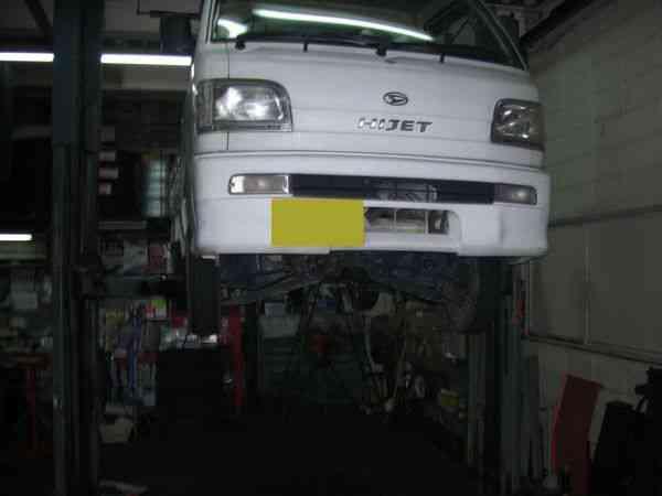 タイミングベルト交換&クラッチ修理+α? @ ダイハツ ハイゼットトラック(S200P)【車検と車の修理@東大阪!】