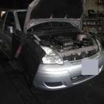 ヘッドライトを明るく!@トヨタ ヴィッツ(SCP10)【車検と車の修理@東大阪!】