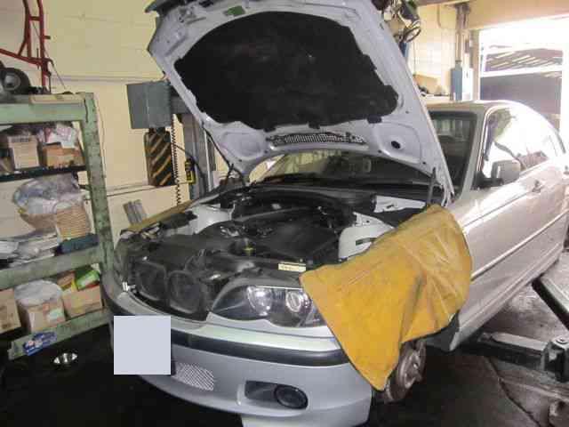 点検& ATF交換!@ BMW E46【車検と車の修理@東大阪!】