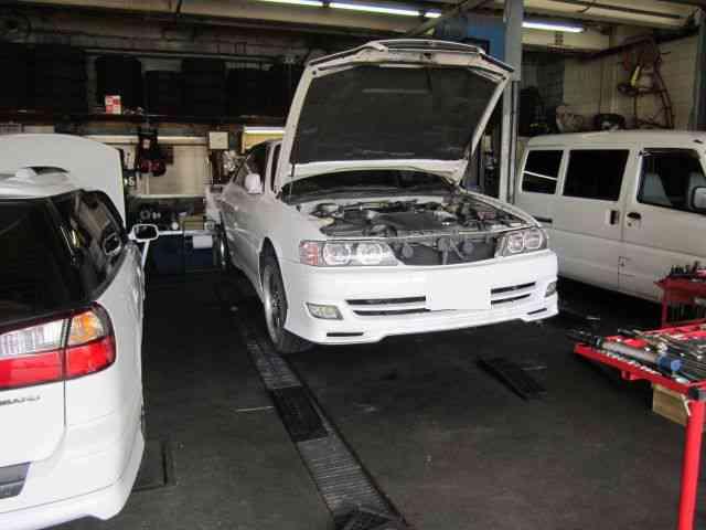 インタークーラーの取り付け&カーエアコン修理 @トヨタ チェイサー ツアラーV(JZX100)【車検とエアコン修理@東大阪】