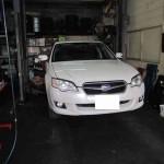 メンテナンスをはじめましょう!@ スバル レガシィ B4 【車検と車の修理@東大阪!】