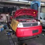 中古車のメンテナンス! @ 三菱 EKワゴン【車検と車の修理@東大阪!】