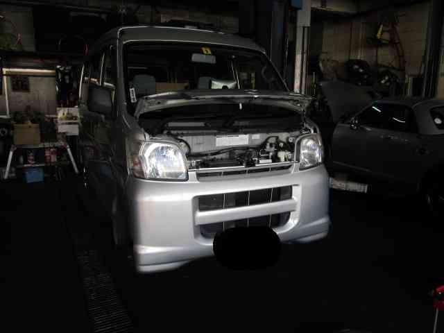 オジサンの長~い一日?@ ダイハツ ハイゼットカーゴ (S320V)【車検と車の修理@東大阪!】
